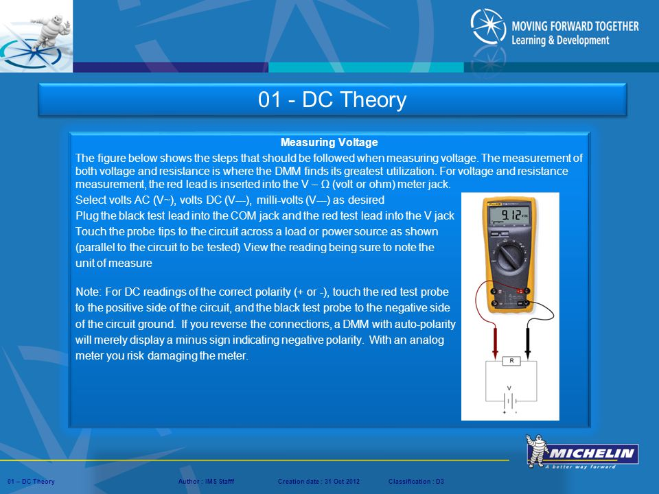 01 - DC Theory Measuring Voltage