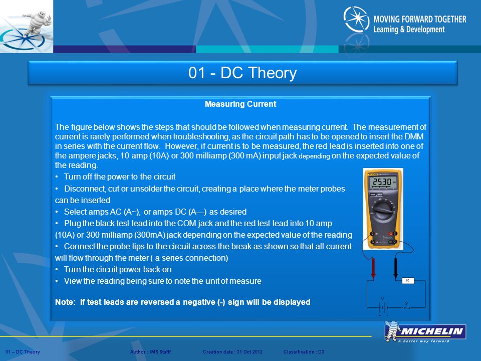 01 - DC Theory Measuring Current
