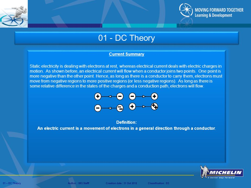01 - DC Theory Current Summary