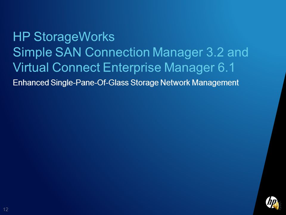 HP StorageWorks Simple SAN Connection Manager 3