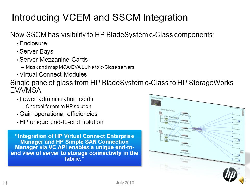 Introducing VCEM and SSCM Integration