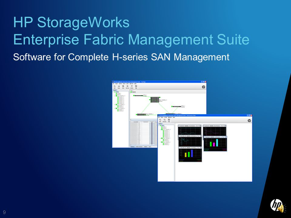 HP StorageWorks Enterprise Fabric Management Suite