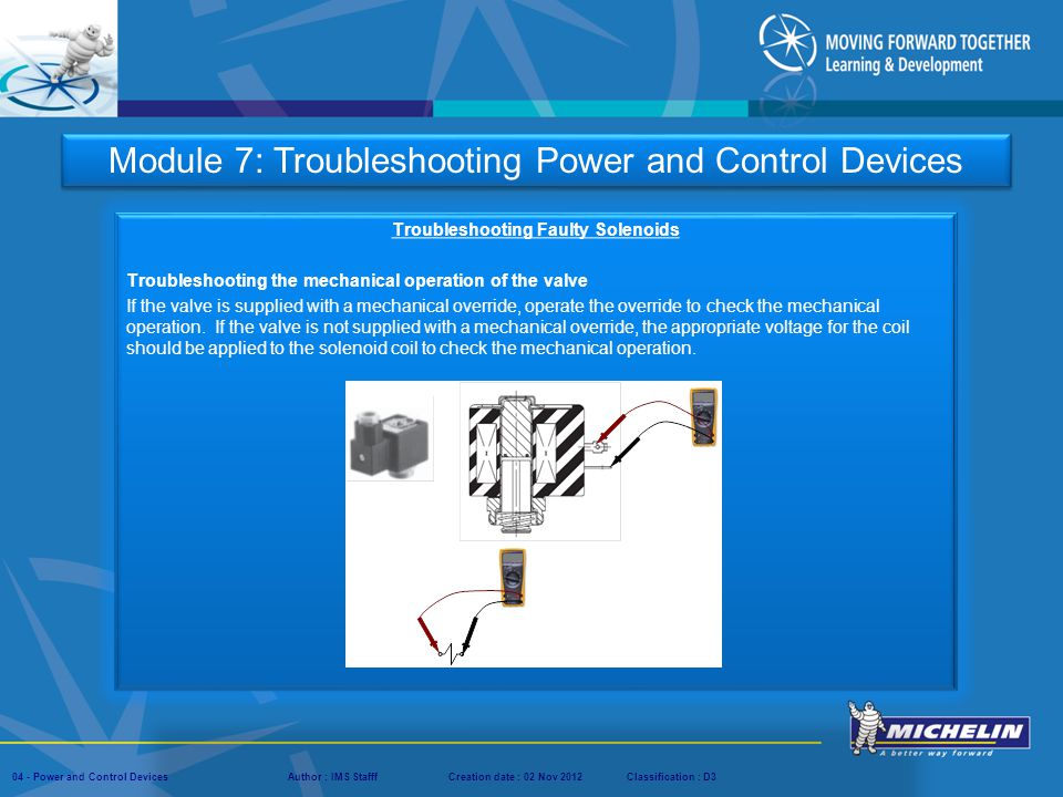 Troubleshooting Faulty Solenoids