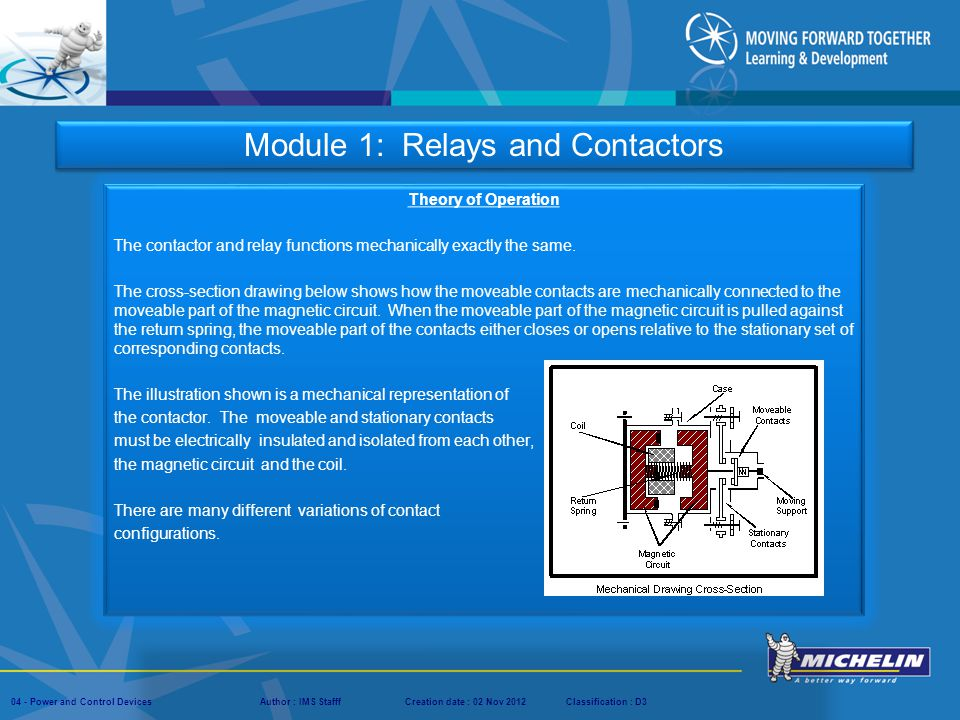Module 1: Relays and Contactors