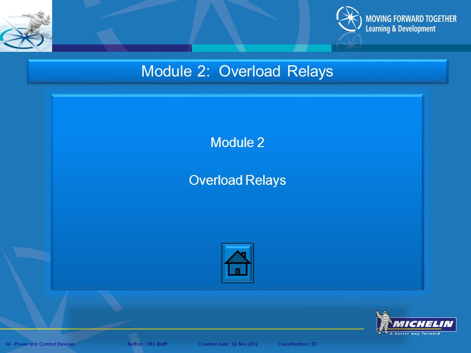 Module 2 Overload Relays