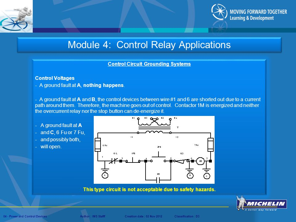 Module 4: Control Relay Applications