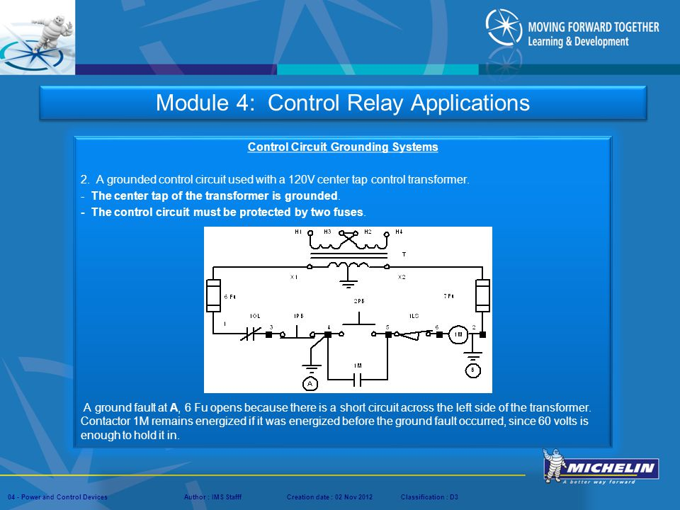 Control Circuit Grounding Systems