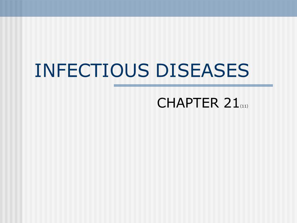 INFECTIOUS DISEASES CHAPTER 21(11)