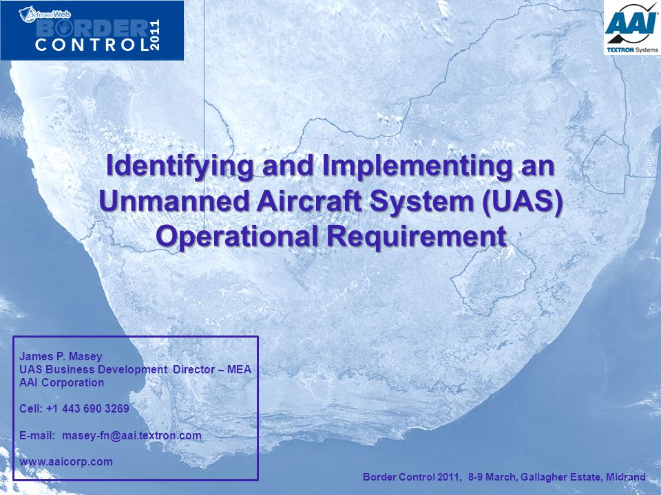 Identifying and Implementing an Unmanned Aircraft System (UAS) Operational Requirement