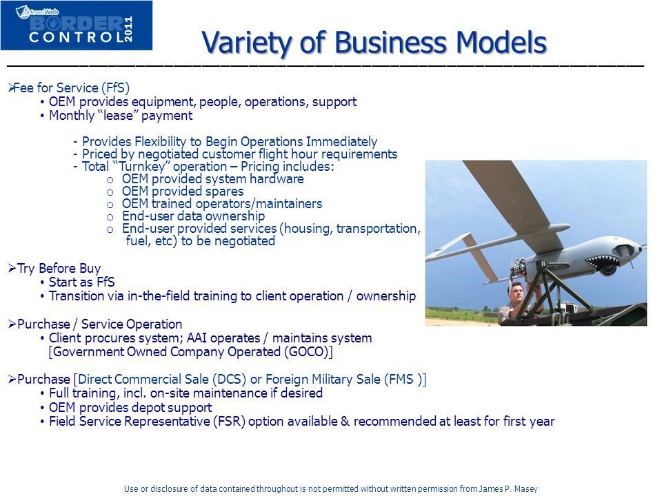 Variety of Business Models