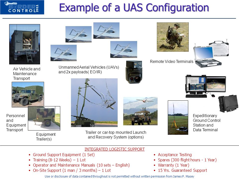 Example of a UAS Configuration
