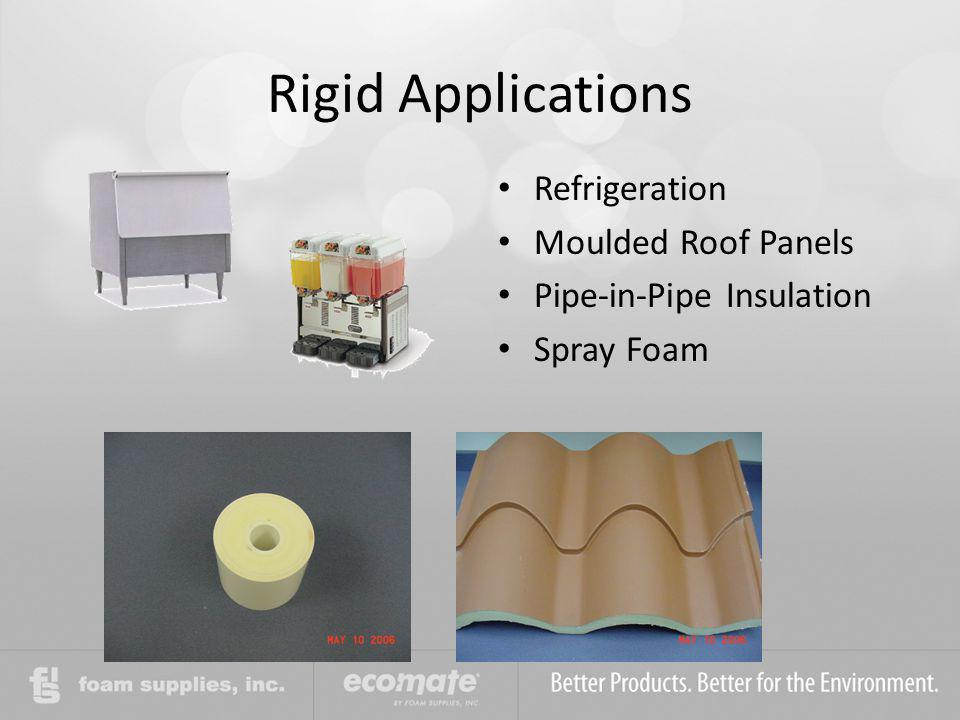 Rigid Applications Refrigeration Moulded Roof Panels