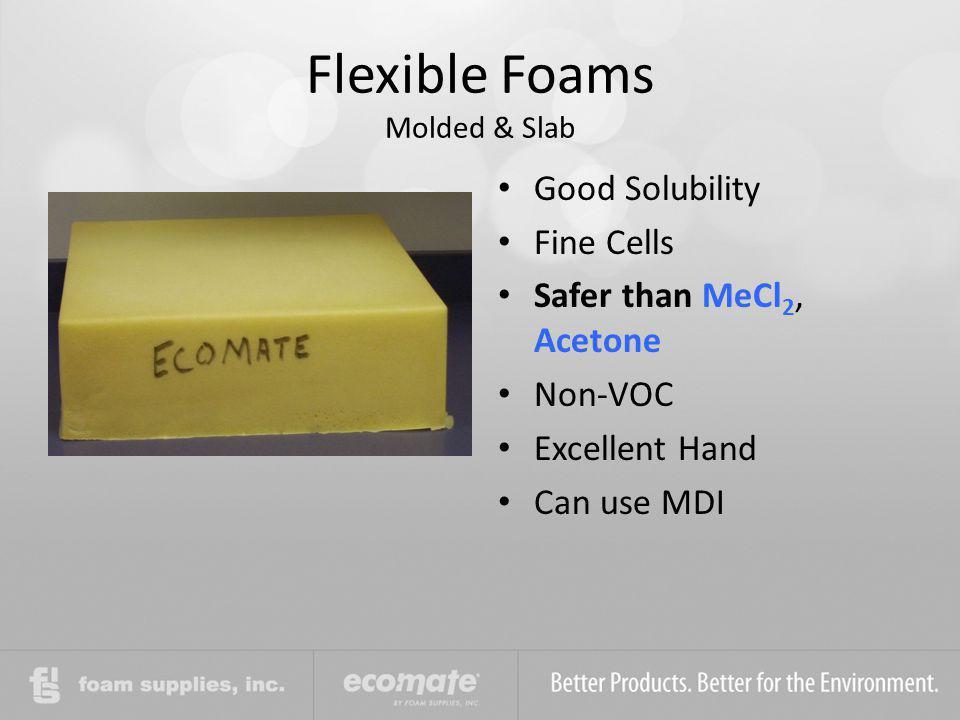 Flexible Foams Molded & Slab