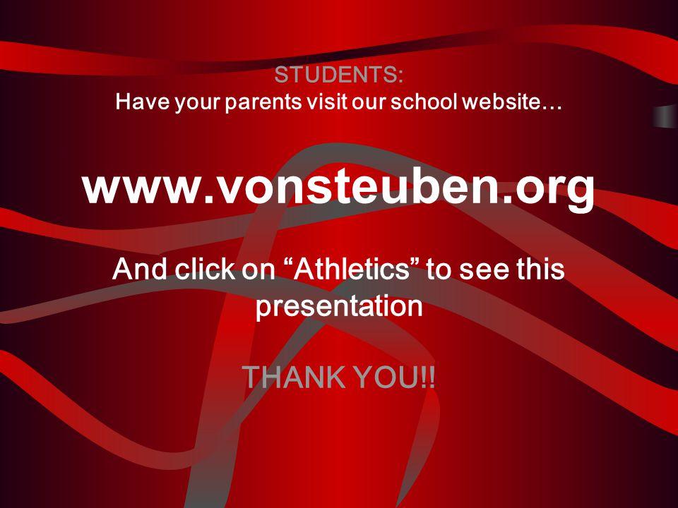 STUDENTS: Have your parents visit our school website…