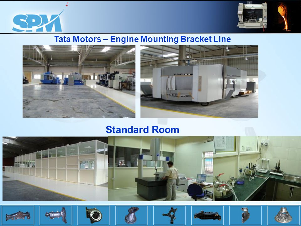 Tata Motors – Engine Mounting Bracket Line