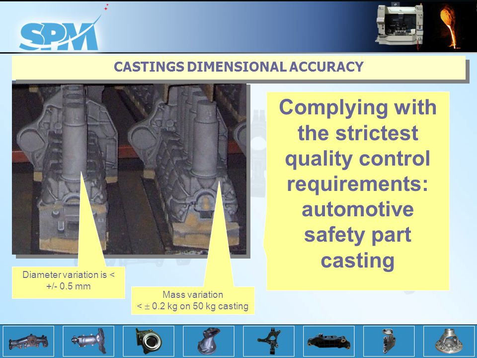CASTINGS DIMENSIONAL ACCURACY