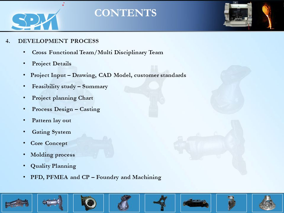 CONTENTS 4. DEVELOPMENT PROCESS