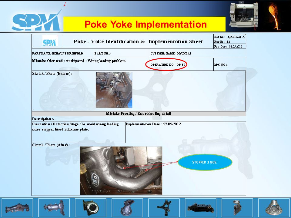 Poke Yoke Implementation