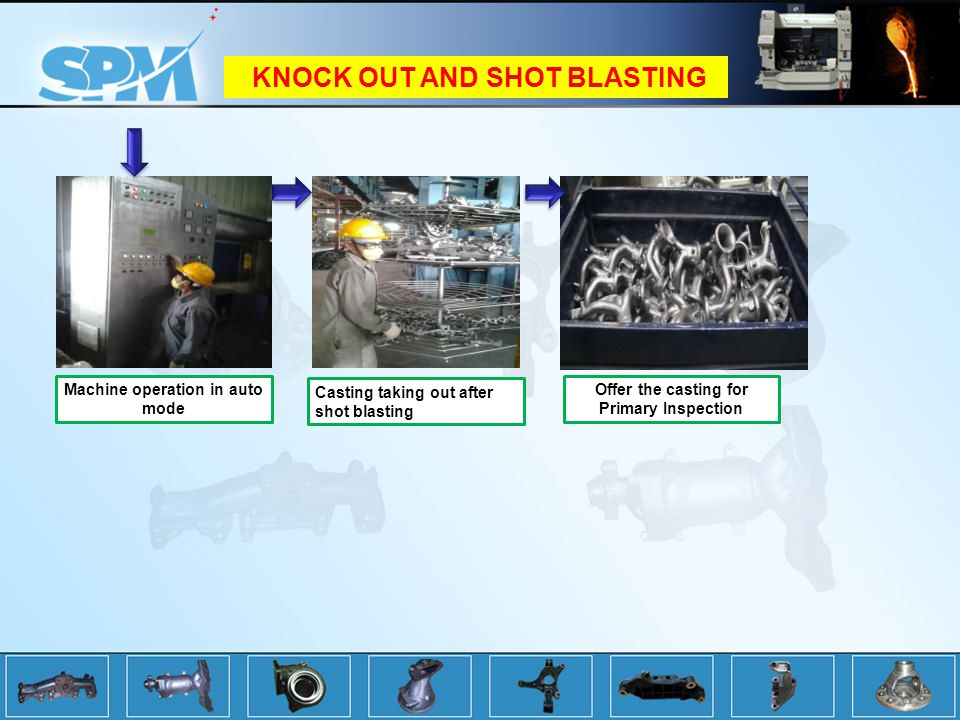 KNOCK OUT AND SHOT BLASTING