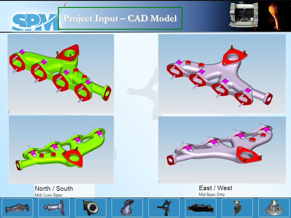 Project Input – CAD Model