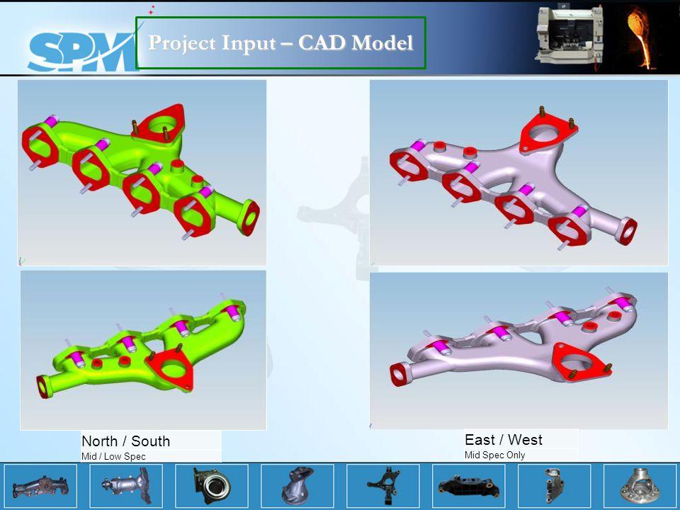 Project Input – CAD Model