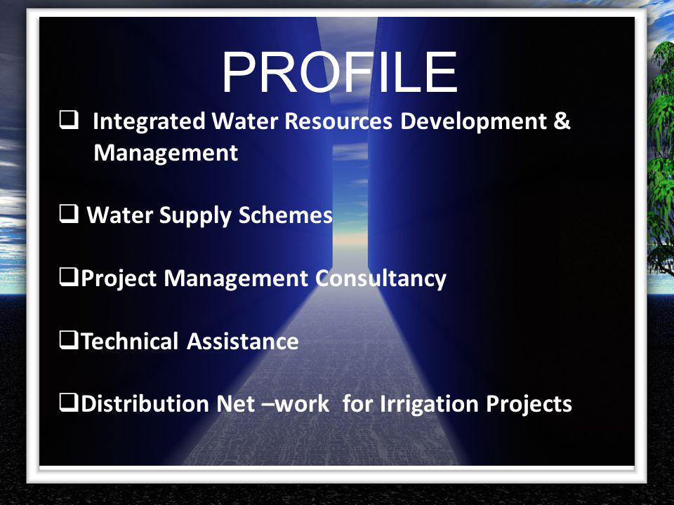 PROFILE Integrated Water Resources Development & Management