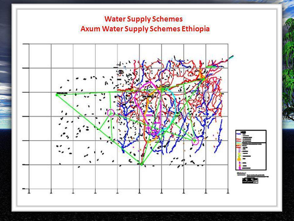 Axum Water Supply Schemes Ethiopia