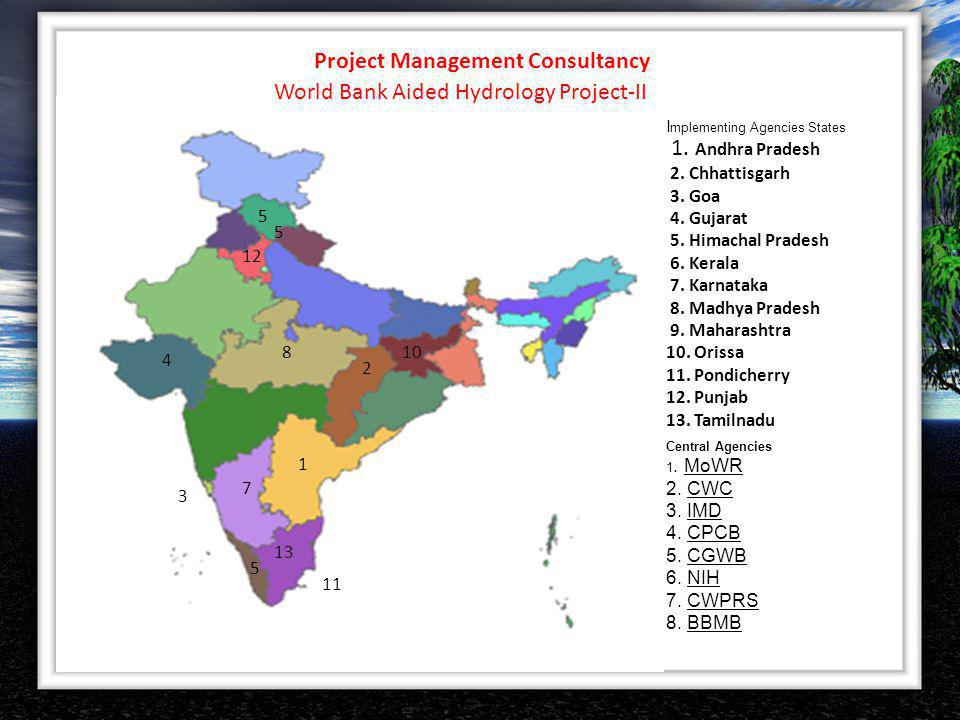 Project Management Consultancy World Bank Aided Hydrology Project-II