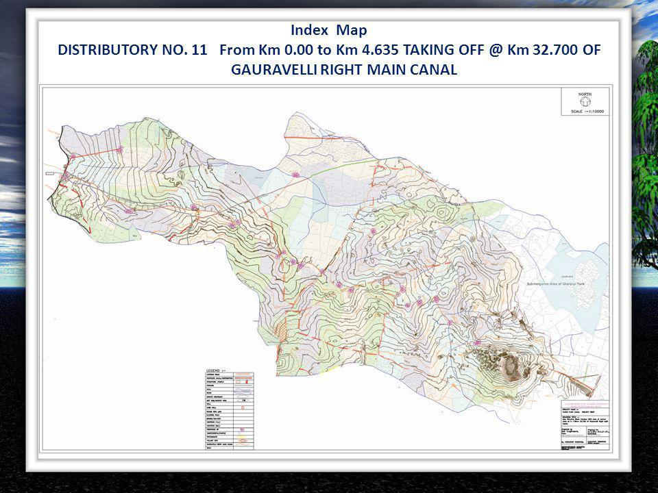 DISTRIBUTORY NO. 11 From Km 0.00 to Km 4.635 TAKING OFF @ Km 32.700 OF