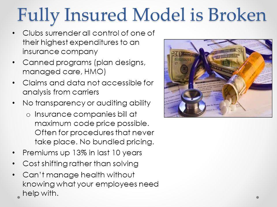 Fully Insured Model is Broken