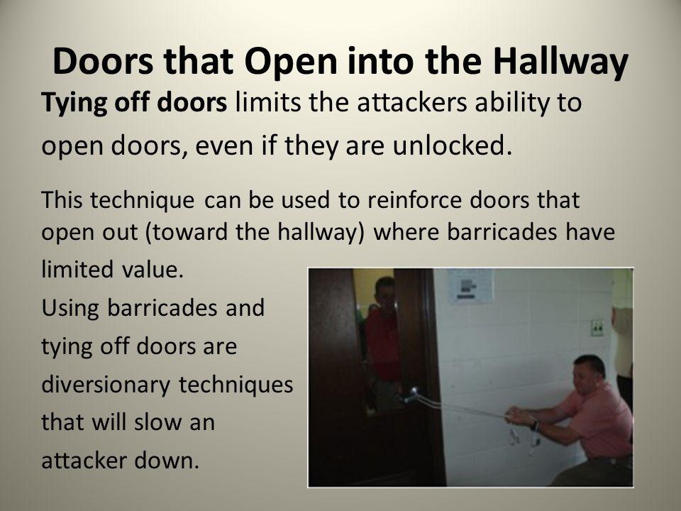 Doors that Open into the Hallway