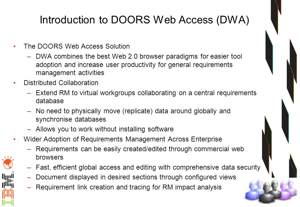 Introduction to DOORS Web Access (DWA)