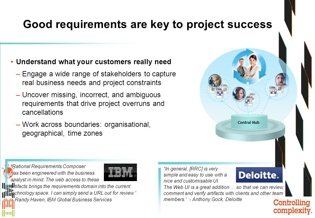 Good requirements are key to project success