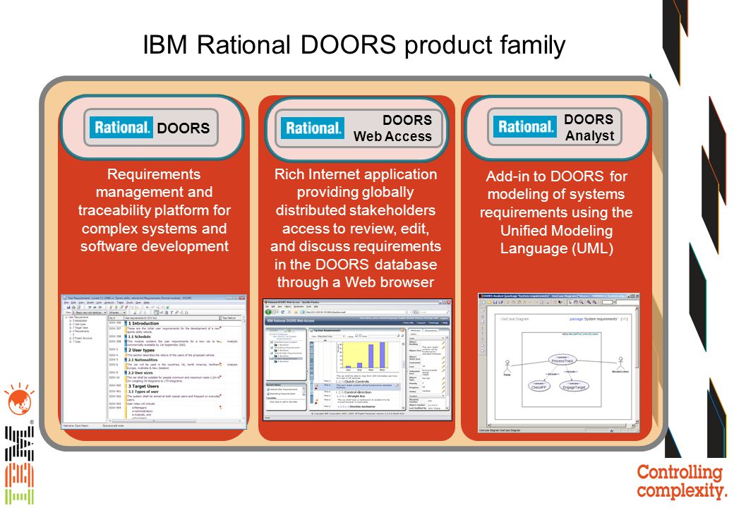 IBM Rational DOORS product family