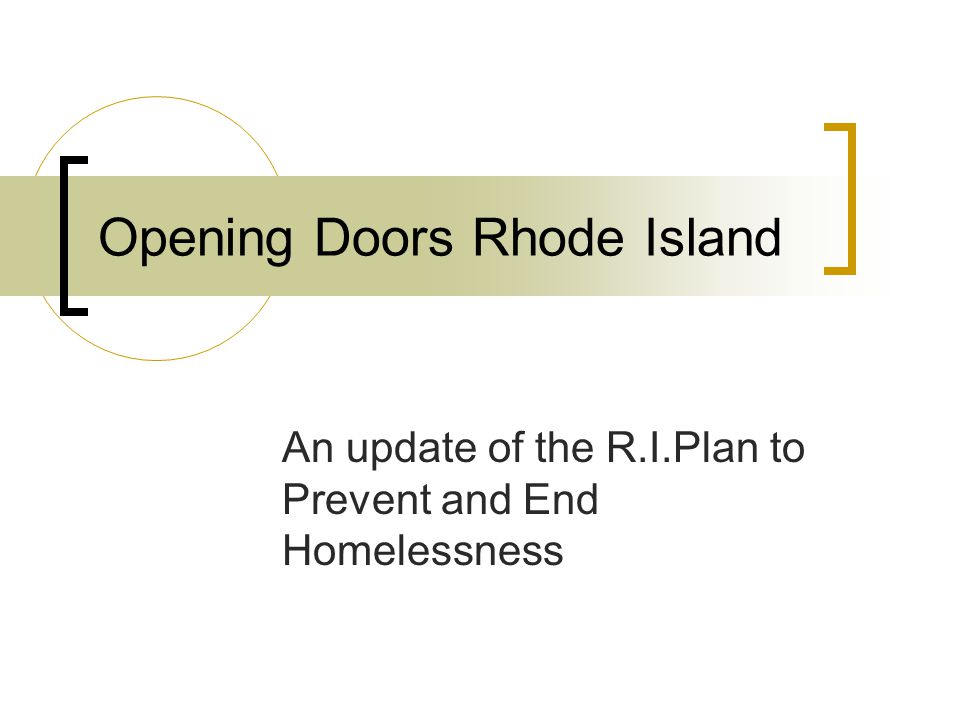 Opening Doors Rhode Island