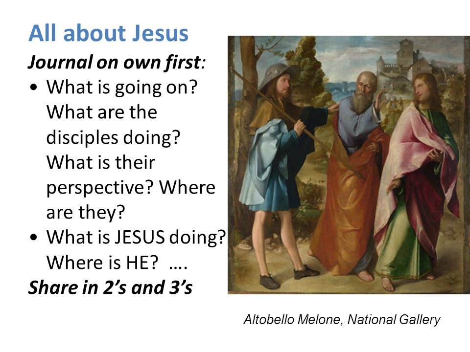 All about Jesus Journal on own first: