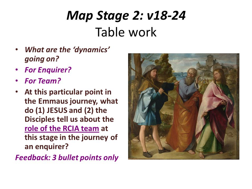 Map Stage 2: v18-24 Table work