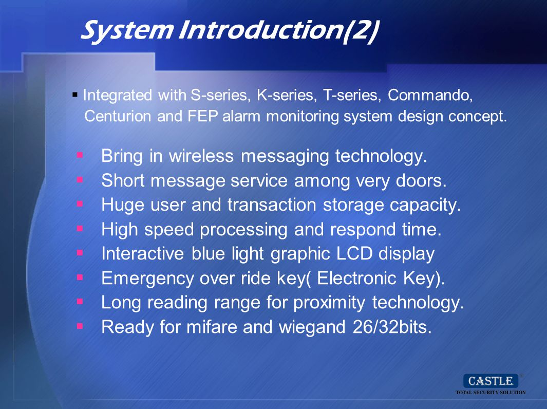 System Introduction(2)