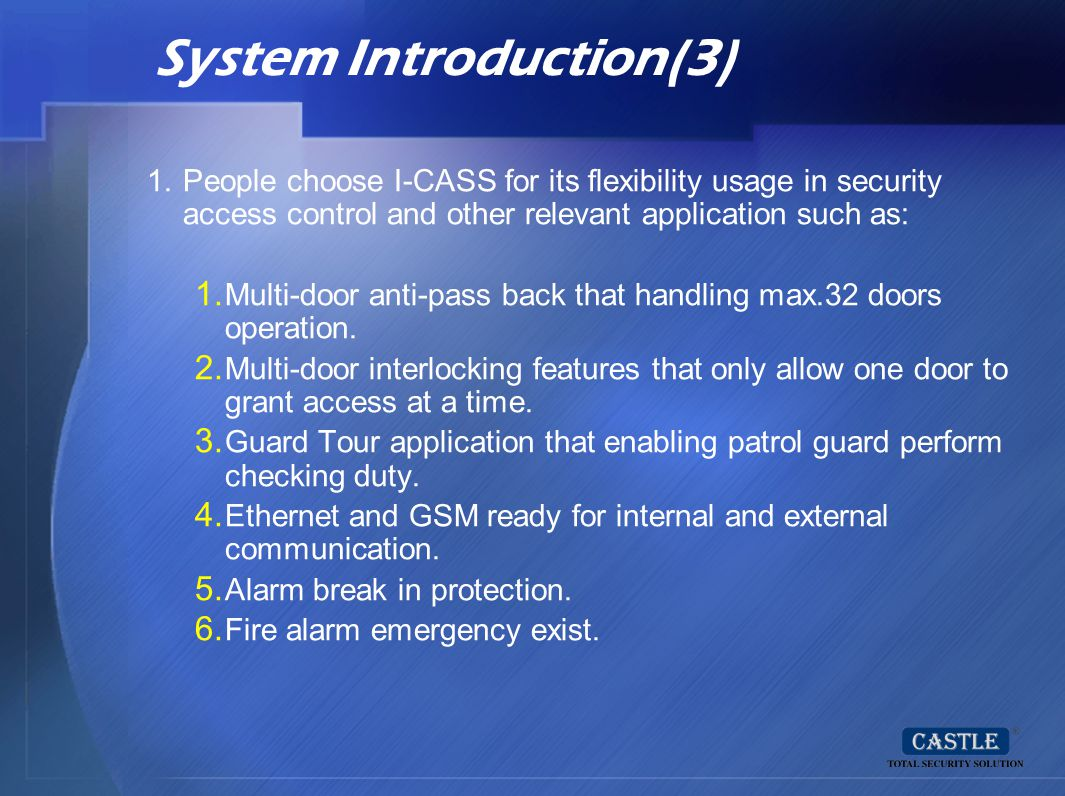 System Introduction(3)