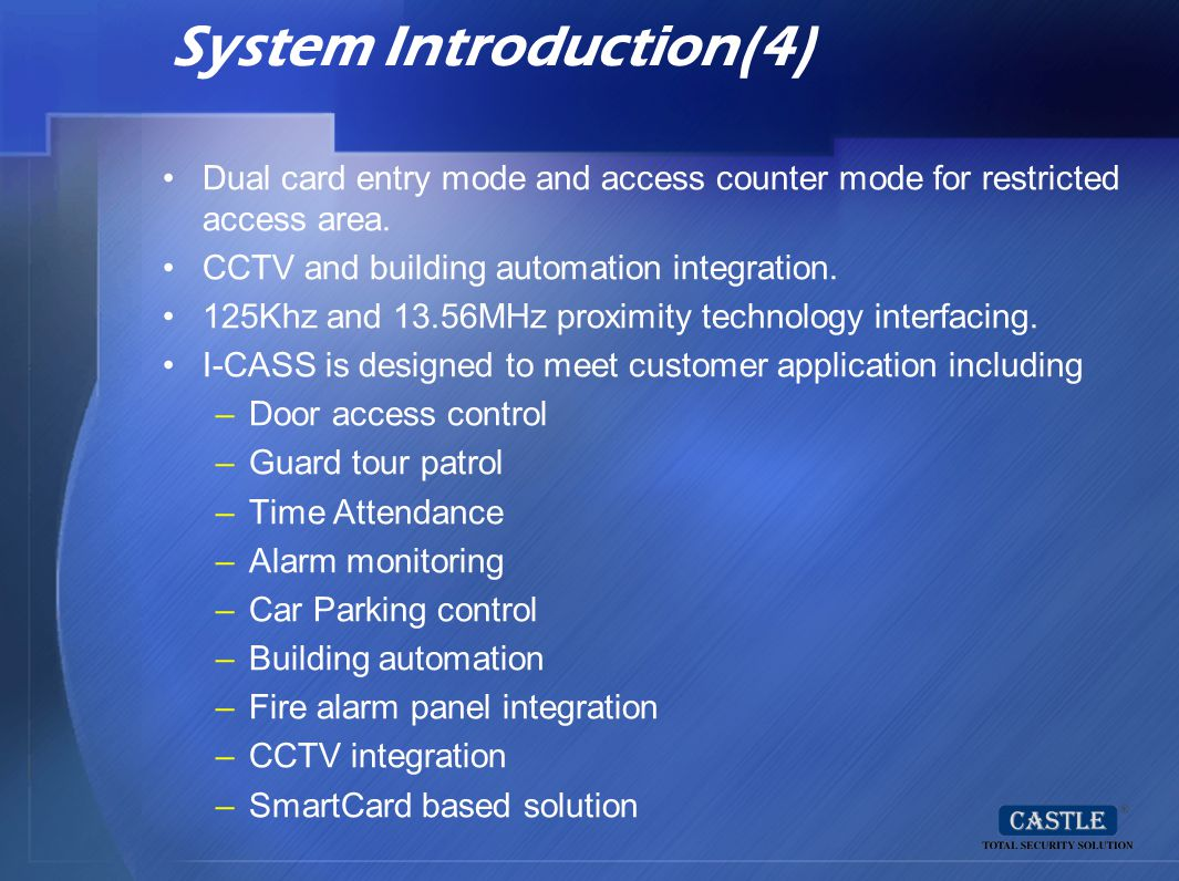 System Introduction(4)