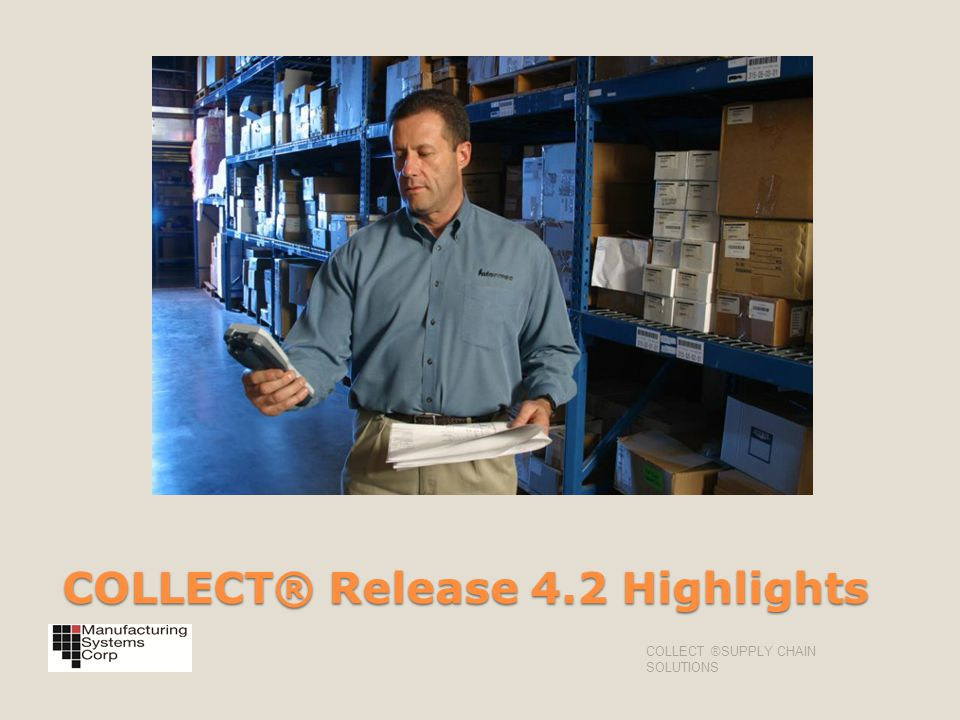 COLLECT® Release 4.2 Highlights
