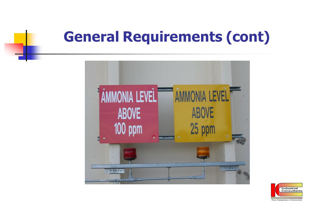 General Requirements (cont)