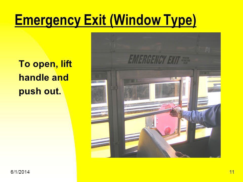 Emergency Exit (Window Type)
