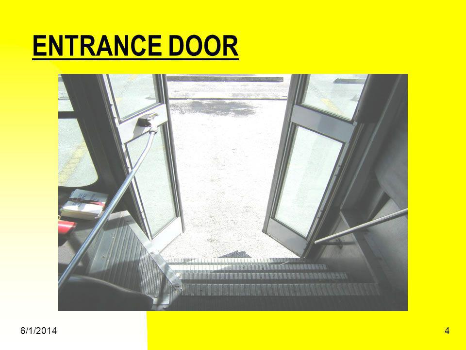 ENTRANCE DOOR 3/31/2017