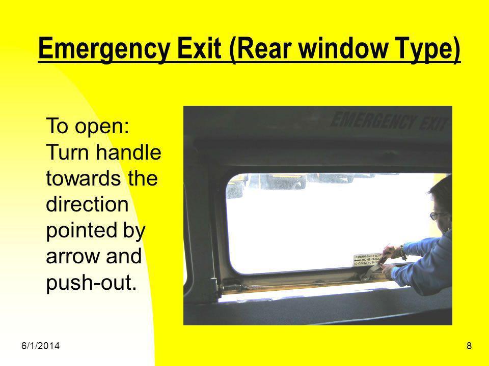 Emergency Exit (Rear window Type)
