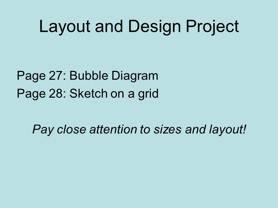 Layout and Design Project