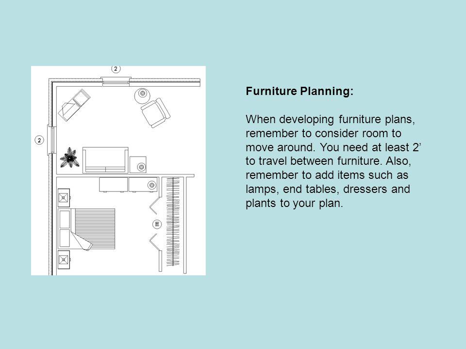 Furniture Planning: