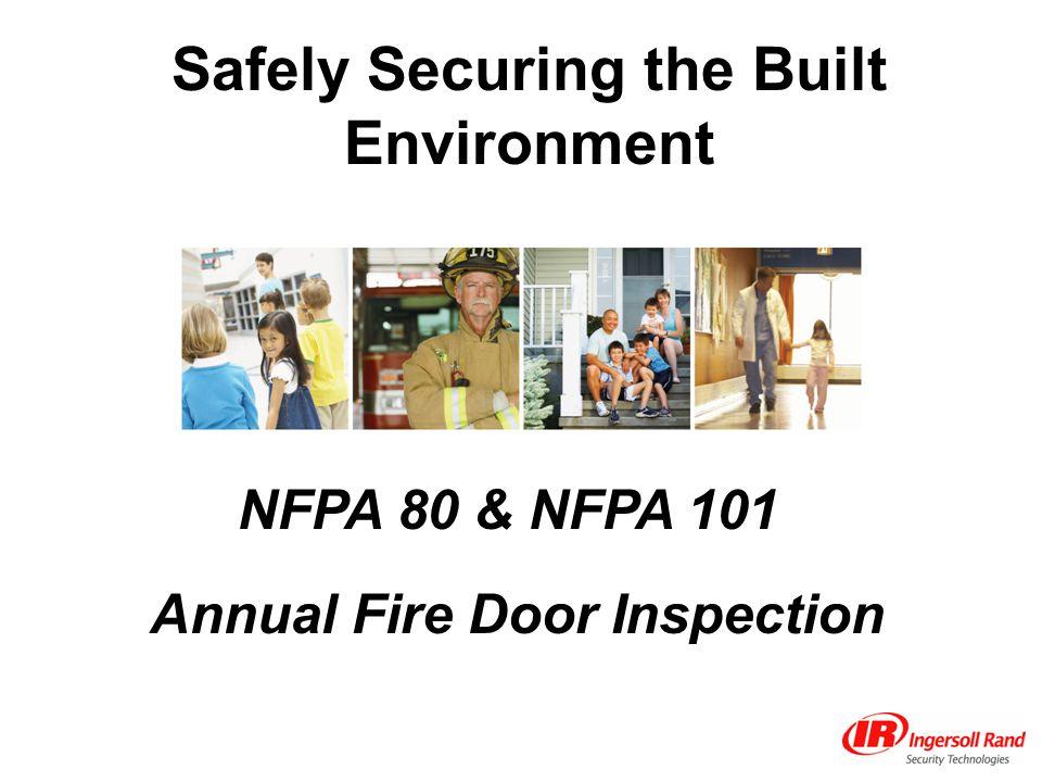 Annual Fire Door Inspection