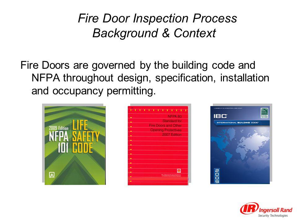 Fire Door Inspection Process Background & Context