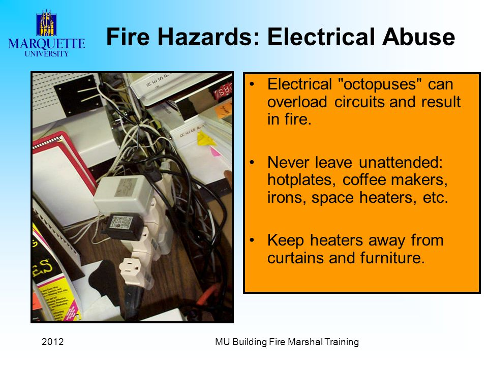 Fire Hazards: Electrical Abuse